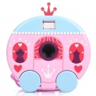 Cartoon Pumpkin Type 300K Pixels USB Digital Camera - Pink (1.0