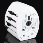 Universal USB Travel AC Power Adapter / Charger w/ UK / US / EU / AU Plug (AC 100~240V)