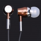 TDK S4 In-Ear Bass Earphone w/ Microphone - Coffee + Gray (3.5mm Jack / 1.2M)