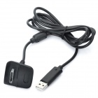 USB Charging & Connecting Cable for XBOX 360 Wireless Controller - Black (145cm-Cable Length)