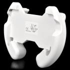 Plastic Steering Wheel Handle for Nintendo 3DS - White