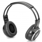 Folding IR Infrared Stereo Wireless Headphone - Black (2 x AAA)