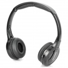 IR Infrared Stereo Wireless Headphone - Black (2 x AAA)