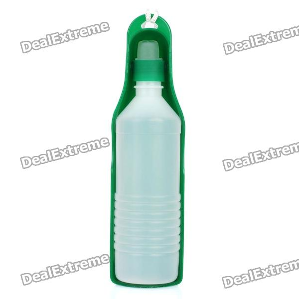 Portable Pet Feeding Bottle with Strap - Random Color (500ml) champagne bottle stopper random color