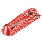 Adjustable Pet Dog Nylon Reflective Harness Belt Strap - Random Color (Size M)