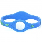 Silicone Anion Energy Bracelet Wristband - Random Color (20cm)