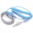 Anti-Static Elastic Wrist Strap - Blue