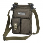 DKD Outdoor Zipped 700D Oxford Nylon Fabric Waist / Leg Bag - Army Green