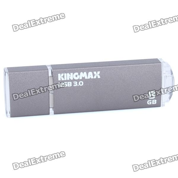 Kingmax USB 3.0 Flash Drive - Grey (8GB) usb flash drive 8gb smartbuy wild dog grey sb8gbdgr