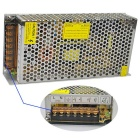12V 10A Iron Case Power Supply - Silver (AC 110~220V)