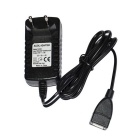 ACUS USB Female to EU Plug AC Power Adapter (100~240V / 107cm)