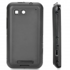 Designer's Replacement Full Housing Case with Buttons for Motorola ME525 - Black