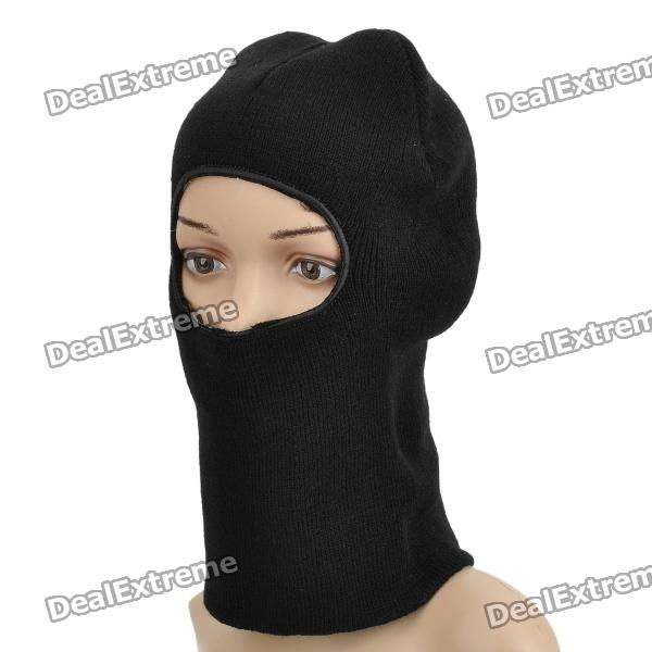 Outdoor Sports Warm Cotton Headgear Face Mask qiuzhang sw2108 outdoor war game military protective skeleton half face shield mask black