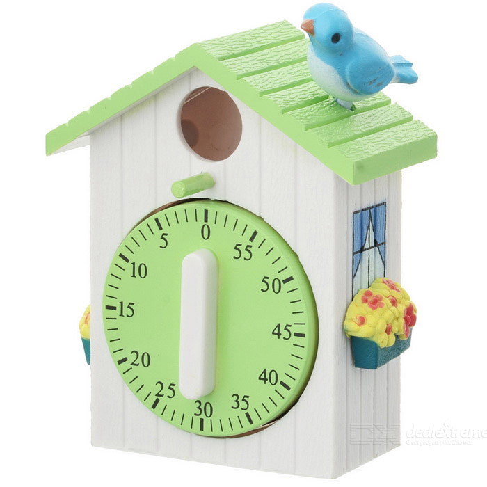 Bird House Style Kitchen Timer (60 minutos)