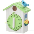 Bird House Style Kitchen Timer (60-Minute)