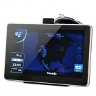 "7"" Resistive Touch Screen WinCE 6.0 SIRF IV GPS Navigator w/ Bluetooth / 4GB Canada Map TF Card"