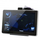 "7"" Resistive Touch Screen WinCE 6.0 SIRF IV GPS Navigator w/ Bluetooth / 4GB Europe Map TF Card"