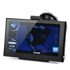 "7"" Resistive Touch Screen WinCE 6.0 GPS Navigator w/ Bluetooth / 4GB Canada Map TF Card - Black"
