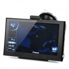 "7"" Resistive Touch Screen WinCE 6.0 GPS Navigator w/ Bluetooth / 4GB Europe Map TF Card - Black"
