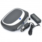 Car Cigarette Powered Air Purifier Ionizer - Black + Silver