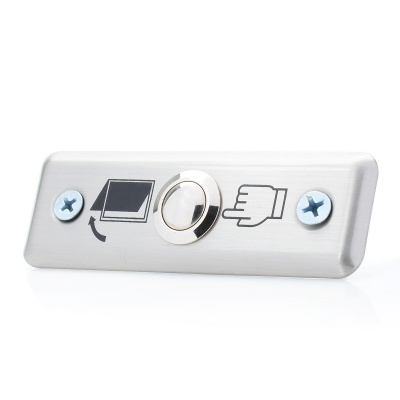 Stainless Steel Door Open Button for Access Control System (DC 12V)