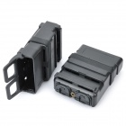 Fast Attach Mag Magazine Pouches - Black (Third-Generation / Pair)