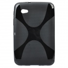 Protective TPU Back Case for Samsung P6200 - Black