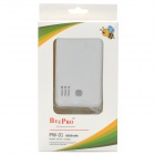 Power Bank 6000mAh Mobile External Power Battery Charger - White