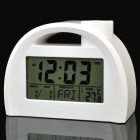 "3.2"" LCD Touch Talking Projection Calendar Clock w/ Alarm / Snooze (3 x AAA)"