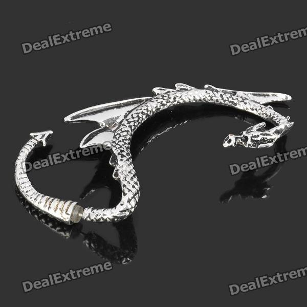 Cool Dragon Style Zinc Alloy Right-Ear Earring - Silver от DX.com INT