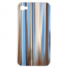 Protective Back Case for Iphone 4 / 4S - Blue + Grey