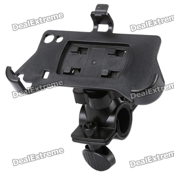 Plastic Bicycle Swivel Mount Holder for Samsung Galaxy Ace S5830 - Black