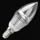 E14 3W 240~270LM 3000K~3500K Candle Style Warm White Light Bulb