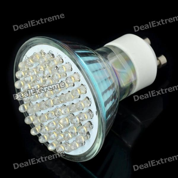 GU10 3.6W 3500K 420-Lumen 60-LED Warm White Light Bulb (AC 85~265V)