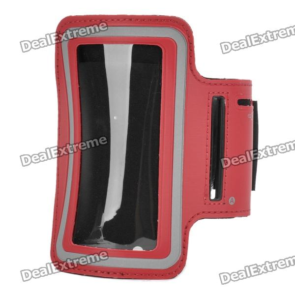 все цены на Sports Gym Arm Band Case for Iphone / Ipod Touch - Red онлайн