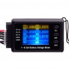 RC Model BVM-8S 1-8 Cell Battery Voltage Meter Tester Alarm
