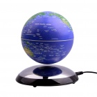"6"" Magnetic Levitation World in Air Globe - Blue"