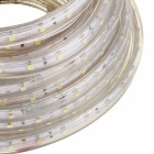 Waterproof 48W Cool White 600*3528 SMD LED Light Strip (AC 220V / 10m)