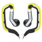 Sport Ear-Hook Style Earphone - Yellow (3.5mm Jack / 1M-Cable)