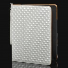 Protective PU Leather Case for Ipad 2 / New Ipad - White