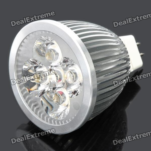 GU5.3 5W 3300K 510-Lumen 5-LED Warm White Light Bulb (DC 12V)