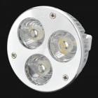 GU5.3 3W 270~300LM 5500~6000K 3-LED White Light Bulb