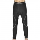 Bike Bicycle Cycling Capri Tights Shorts - Black (Size-XXXL)