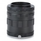 Macro Extension Tube / Ring for Nikon SLR / DSLR Cameras - Black