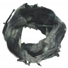 Multi Scarf Headwear Neck Bandana Warmer Mask(Grey and Black)