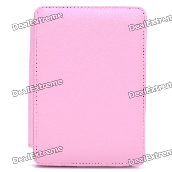 Protective PU Leather Case for Kindle 4 - Pink