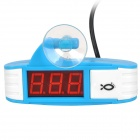 "Waterproof 1.6"" LED Aquarium Water Temperature Digital Thermometer (100~240V)"