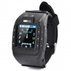 "N388 GSM Watch Phone w/ 1.3"" Resistive, Single SIM, Quadband and FM - Black"