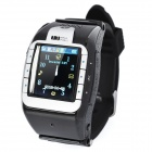 "N388 GSM Watch Phone w/ 1.3"" Resistive, Single SIM, Quadband and FM - Silver"