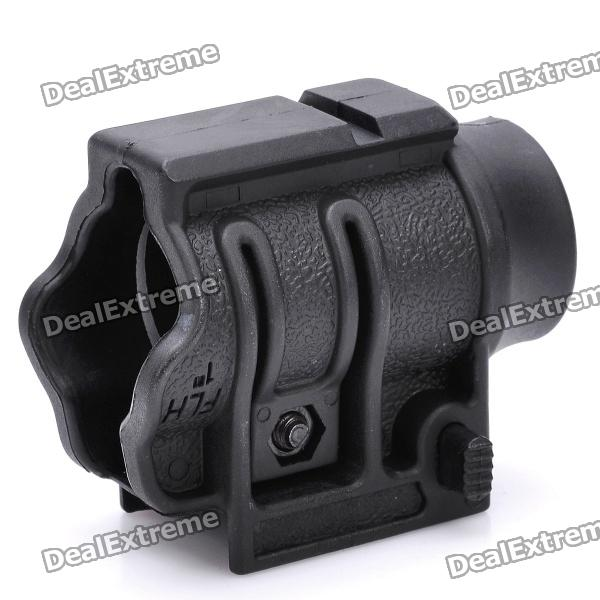 26mm QD Quick-Detach Flashlight Mount Holder for 21mm Rail - Black rear wheel hub for mazda 3 bk 2003 2008 bbm2 26 15xa bbm2 26 15xb bp4k 26 15xa bp4k 26 15xb bp4k 26 15xc bp4k 26 15xd